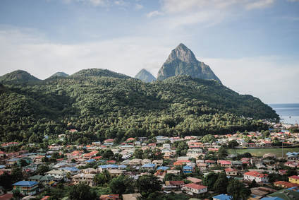 Building vacation rentals  - and deciding on the best locations in St. Lucia – tough but worth it!